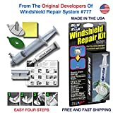 Blue Star Windshield Do It Yourself Windshield Repair Kit Resin, Glass Repair KIT Stone Damage CHIP Model # 777 Prevent Stone Damage Repair, Autoglass Chips and Cracks. Made in USA