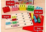 HorBous Juegos Matematicos de Madera para Niños Mayores de 3 años Puzzles Matematicos