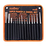 HORUSDY 16-Piece Punch and Chisel...