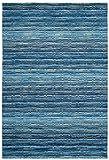 Safavieh Himalaya Collection HIM707A Handmade Premium Wool Accent Rug, 2' x 3', Blue / Multi