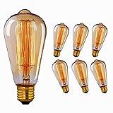 Edison Vintage lampadina, Massway 40W Dimmerabile Lampadina Retro...