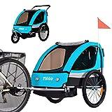 Tiggo Convertible Jogger Remorque à Vélo 2 en 1 pour Enfants BT504-D03...