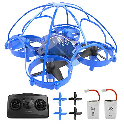 ATOYX Mini Drone for Kids Beginners Adults,Remote Control Drone, Quadcopter Drone with Altitude Hold Function,RC Helicopter Plane with Auto Hovering, 3D Flip,Headless Mode,Best Gift for Kids
