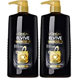 L'Oreal Paris Elvive Total Repair 5 Repairing Shampoo and Conditioner, for damaged hair, Shampoo and Conditoner with protein and ceramide for strong, silky, shiny, healthy, renewed hair, 1 kit