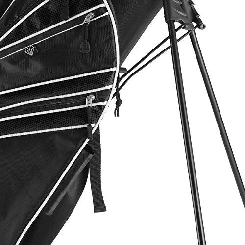 Tangkula-Golf-Stand-Bag-w6-Way-Divider-Carry-Organizer-Pockets-Storage