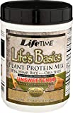 Lifetime, Plant Protein Mix Lifes Basics Unsweet Vanilla, 16.24 Ounce