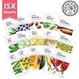 The Face Shop Facial Mask Sheets (15 Treatments),...