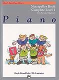 Alfred's basic piano library - notespeller book complete level 1 livre sur la musique