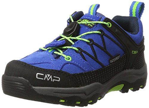 CMP Rigel Low Trekking- & Wanderschuhe Unisex-Kinder, Blau (Royal-Frog 94bd), 32...