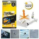 GLISTON Car Windshield Repair Kit, Auto Glass Repair Kit for Chips and Cracks, Star-Shaped, Bulls-Eye, Nicks, Half-Moon Crescents