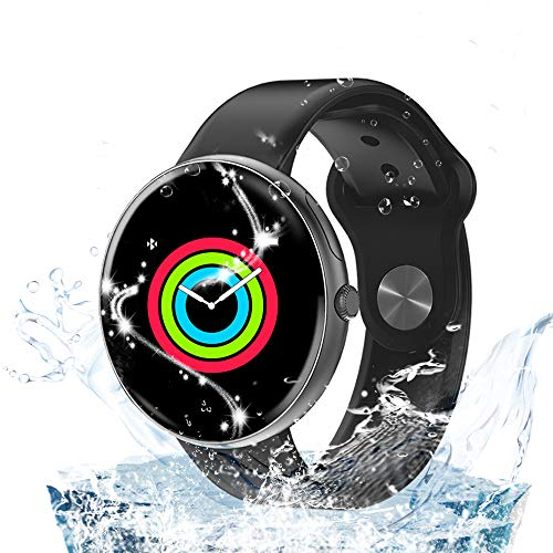 Smart Watches,IP68 Waterproof Smart Watch Bluetooth for Women Men Kids Compatible Android Phone,Fitness Activity Tracker with Heart Rate Monitor & Blood Pressure Monitor New Model
