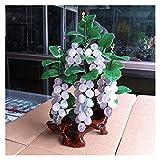 rbol bonsai artificial Bonsai artificial Amatista natural Jade Uvape Bonsai para la entrada de la decoracin interior de la entrada de la entrada del vino Jade Talling Decoration Decoracin de planta