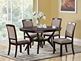 Coaster Rounded Square Dining...