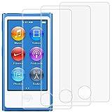 AFUNTA Protecteurs D'écran pour iPod Nano 7ème 8ème Génération, Lot de 3...