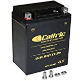 Caltric Agm Battery for Yamaha Grizzly 350 Yfm350 Yfm-350 4Wd Irs Hunter 2007-2011