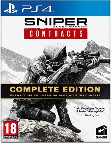 Sniper Ghost Warrior Contracts Complete Edition (PS4) - [AT-PEGI]