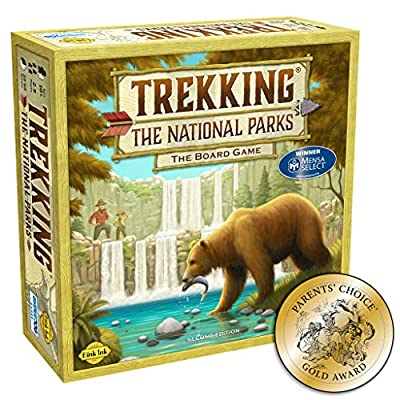 Best-Selling & Award-Winning National Parks Game: Winner Of The Mensa And Parent's Choice Award. See the many 5-star reviews! Created By National Parks Enthusiasts: This couple traveled to every single national park and then worked with their son to ...