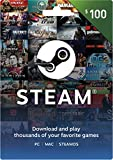 Steam Gift Card - $100 (Video Game)
