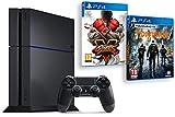 Contenu : Console PlayStation 4 1 To Jet Black + Street Fighter V Tom Clancy's : The Division [Import Europe - jeu en français]