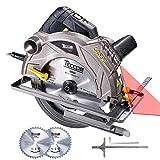 Scie Circulaire, TECCPO Professional 1500W Scie...