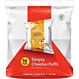 Cheetos simply cheese puffs white cheddar 8.75 ounce