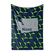 PERSONALIZED – Create a truly unique and one-of-a-kind fleece throw blanket for yourself or someone you love. Use the customizing tool to enter your name, their name, a funny saying, or an inside joke. Whatever you choose, we will take your desired t...