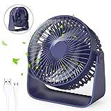 Jovego Mini Ventilateur, Ventilateur de Poche Table USB...