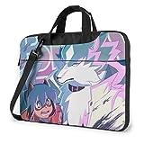 XCNGG BNA Animal Anime Laptop Hombro Messenger Bag Tablet Computer Storage Mochila Bolso 14 Pulgadas