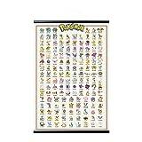 Grupo Erik Poster et Kit de Fixation | Pokemon Kanto 151, 61 x 91,5 cm