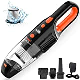 ZesGood Handheld Vacuum Cordless, 7000PA Powerful Suction with Rechargeable Hand Held Vacuum Cleaner 120W Cyclonic Motor, for Home and Car Cleaning