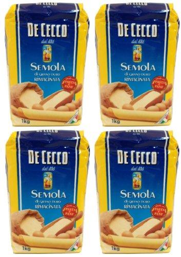 De Cecco - sémola de trigo duro - Semola di grano duro rima