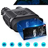 Night Vision Binocular for Adults, 7x31mm HD Digital Infrared Zoom Widescreen Night Vision Scope Camera & Goggles, with 32GB TF Card, 1300ft/400M Night Vision Binocular for Hunting Adventure Camping N
