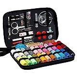 Zerama 98pcs Couture Voyage Kit Fil d'aiguille Ruban Scissor Set...