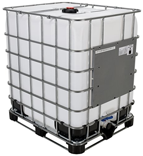 Vestil IBC-330 Steel Intermediate Bulk Crate, 330 Gallon Capacity, 47 Length x 53' Width x 39' Height