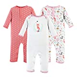 Hudson Baby baby girls Cotton Coverall, Woodland Fox, 12-18 Months US