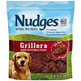 Nudges Natural Dog Treats Grillers Made with Real Steak