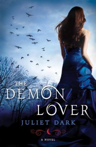 """Cover of """"The Demon Lover"""" by Juliet Dark."""