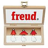 Freud 3 Piece Chamfer Bit Set...