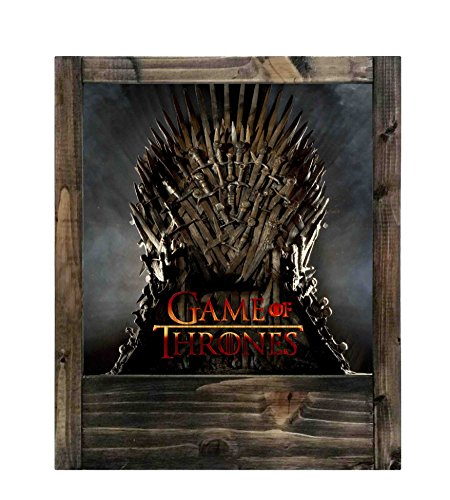 Lámpara de madera Game of Thrones