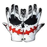 Eternity Gears- Jester Football Gloves - Tacky Grip Skin Tight Adult Football Gloves - Pro Elite Super Sticky Receiver Football Gloves - Adult Sizes