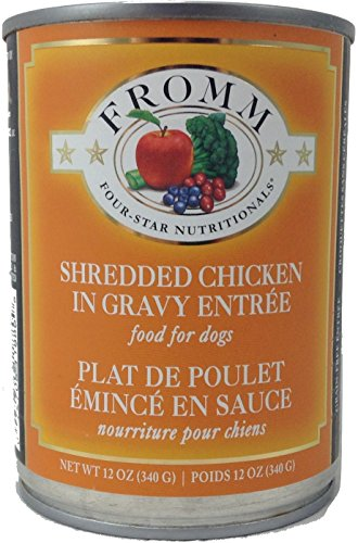 Fromm Four-Star Canned Dog Food - Shredded Chicken...