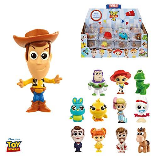 Mattel-GHL54 Toy Story mini figura 7x7cm, Modelos aleatorios, Multicolor (GHL54) , color/modelo surtido