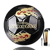 Senston Ballon de Football Taille 5 Match Officiel Football Adultes