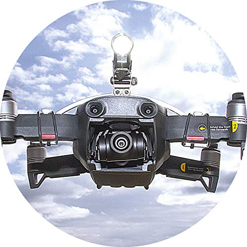 Robot Werk drone Bottom Headlight/notte Volo LED luce (DJI Spark drone di lampade)360Lumen (FPV...
