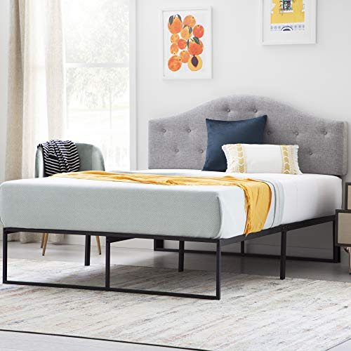 LINENSPA Contemporary Platform Bed Frame, Twin