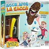 Mattel Games, Acchiappa la Cacca con Toilet Incluso, Gioco da Tavolo per Bambini 5 + Anni, FWW30