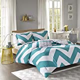 Mi-Zone Mizone Libra Comforter Set-Blue-Twin/TXL, Twin/Twin XL