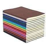 XYTMY coloré A5 PU cahier en cuir, journal d'écriture sujet cahiers...