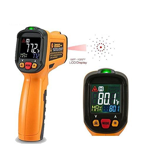 Exeblue Infrared IR Thermometer, Digital Laser Thermometer LCD Display -58°F~1022°F