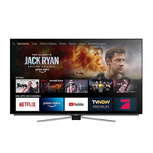 Grundig OLED - Fire TV Hands-Free mit Alexa (65 VLO 8599) 164 cm (65 Zoll) OLED Fernseher (Ultra HD, Dolby Vision, Dolby Atmos) [Modelljahr 2019]